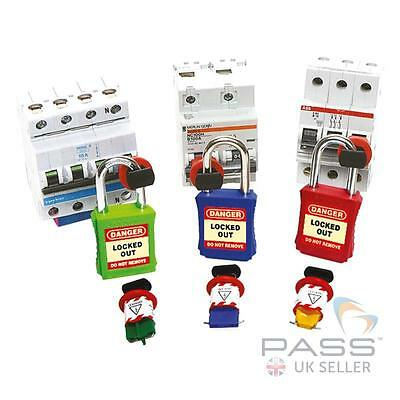 3 x Slider Circuit Breaker Lockout Kit