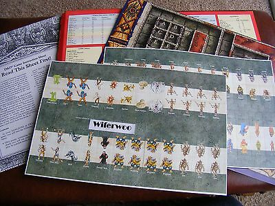 DUNGEONS & DRAGONS AD&D Board Game - For Spares