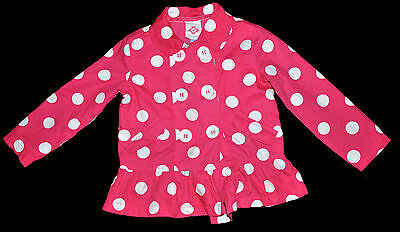 John Lewis Girl Pink  Jacket Coat Girl Age 2 Years Height 92Cm