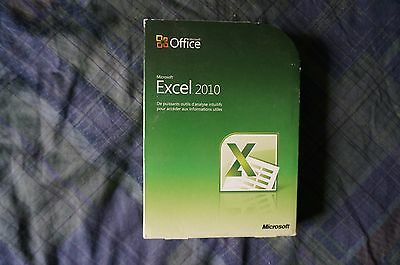 Microsoft Office Excel 2010 Comme Neuf