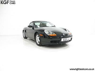 An Elegant Porsche Boxster 986 with 39,158 Miles and Exceptional History.