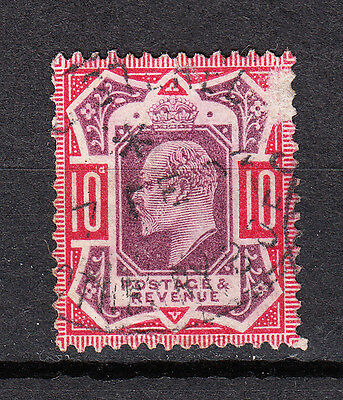 GREAT BRITAIN -1902 - SG # 311- 10d.  used - King Edward VII - K747