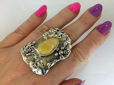 OPPORTUNITY PROMOTION  Baltic Amber Sterling Silver 925 RING