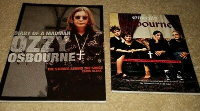 Ozzy Osbourne book (Lot of 2)