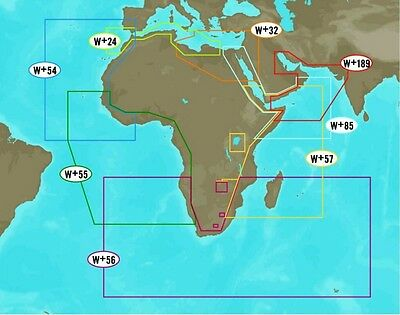 C-Map NT+ WIDE AREA for AFRICA AND MIDDLE EAST