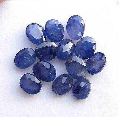 31.70 Ct 100% Natural Oval Shape Blue Sapphire Loose  Gemstone