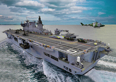 Hms Ocean - Hand Finished, Limited Edition (25)