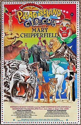 Mary Chipperfield Circus Poster