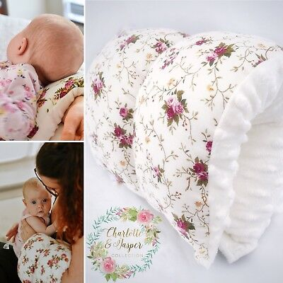 Arm Feeding Pillow, Breastfeeding/Bottlefeeding Cushion,Nursing Support,Handmade