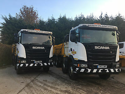 Scania 8 wheel tipper - Boweld body - G Cab - 400 HP - 2 available