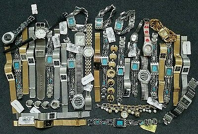 Lot of 38 Liz Claiborne Watches, many still with tags -  Untested - 5542