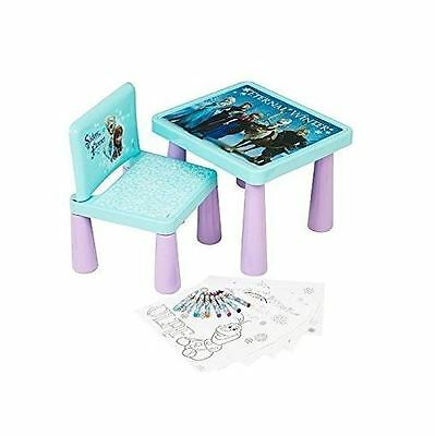 Disney Frozen Sit And Colour Desk Kids Fun Drawing Art Table Dfr-4144