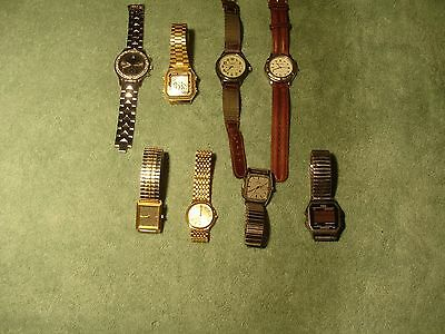 Box Lot Estate Watches as Shown.Casio, Helbros, Citizen, Timex,  Others.....