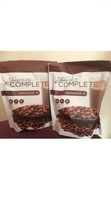 Juice Plus Complete Chocolate X2 New Packaging Sealed 525g