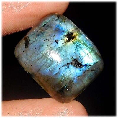 34 Cts AAA Quality A+ 100% Natural Labradorite 20X17  Loose Cab Gemstone