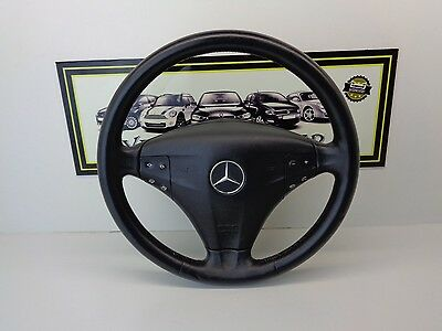 Mercedes W203 Coupe Steering Wheel Leather With Airbag