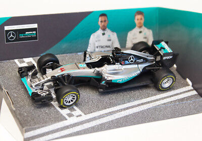 Lewis Hamilton F1 Mercedes AMG 1:43 Diecast Formula One Model Car by Burago