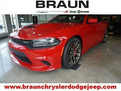 2016 Dodge Charger  2016 Dodge Charger SRT Hellcat Red/Black Sepia/Brass Monkey $0 dn $889/mo