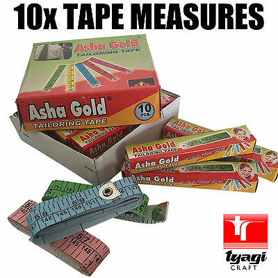 "10Pcs Tape Measures  60"" Inch 150cm 1.5m Sewing Dressmaking Tailor Craft Fabric."