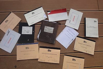 Lot De Document Sncf Devaut Lanterne Chemin De Fer Ect...