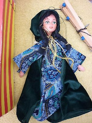 Vintage Puppet boxed Maid Marian from Robin Hood  boxed Pelham