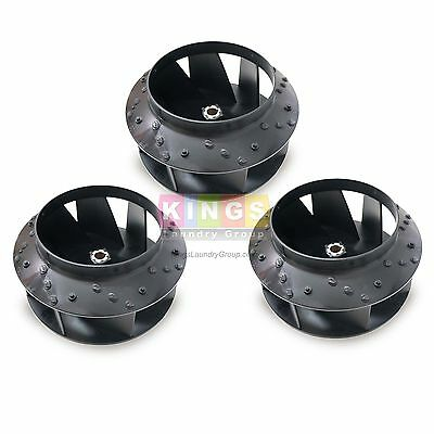 3pk Quality Blower Fan For Huebsch, Speed Queen, Ipso Dryer  # 70359801P