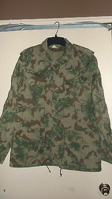 Camo uniform African camo jacket 2nd pattern Large