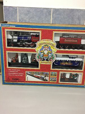 NEW IN BOX TOY STATE  MODEL No.5303 HOLIDAY NUTCRACKER EXPRESS TRAIN SET