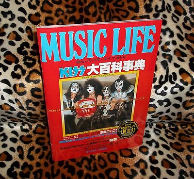 Kiss Encyclopedia Music Life Japan Special Photo Book 1977 New Sealed 2016