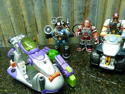 Rescue Hero Lot Figures Vehicle Backpacks Free Shipping Must See