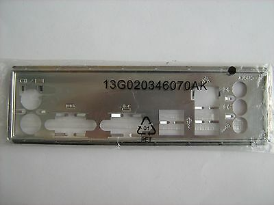 G41C-GS ASRock motherboard I/O Shield IO Backplate G41M-GS3 G41M-VS3 G41M-S3 New