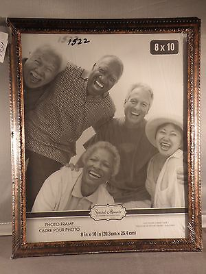 """8"""" x 10"""" desk top wood picture frame glass pane #1522"""