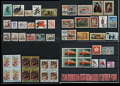 Worldwide Stamps,  a huge amount of stamps, Lot, used (WK 7)