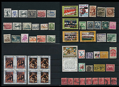 Worldwide Stamps,  a huge amount of stamps, Lot, used (WK 11)