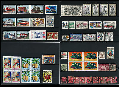 Worldwide Stamps,  a huge amount of stamps, Lot, used (WK 15)