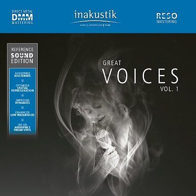 Reference Sound Edition-GREAT VOICES: 1 / VARIOUS  VINYL LP NEU