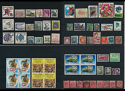 Worldwide Stamps,  a huge amount of stamps, Lot, used (WK 17)