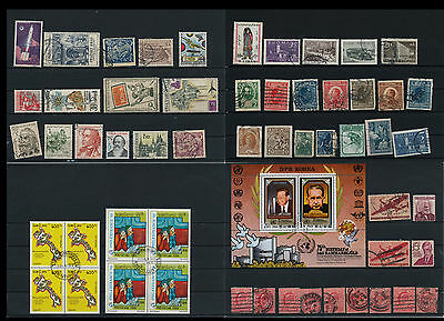 Worldwide Stamps,  a huge amount of stamps, Lot, used (WK 19)