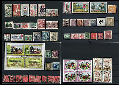 Worldwide Stamps,  a huge amount of stamps, Lot, used (WK 21)