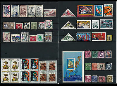 Worldwide Stamps,  a huge amount of stamps, Lot, used (WK 29)