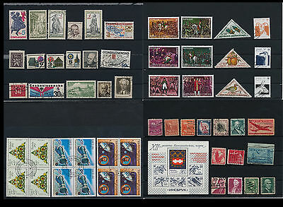 Worldwide Stamps,  a huge amount of stamps, Lot, used (WK 31)