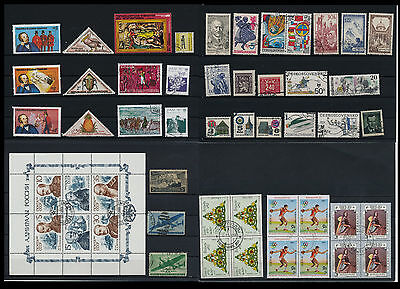 Worldwide Stamps,  a huge amount of stamps, Lot, used (WK 33)