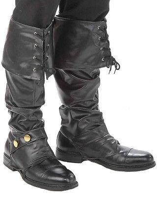 Deluxe Mens Pirate Boot Tops