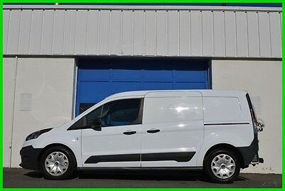 2014 Ford Transit Connect XL 2.5L LWB Dual Sliders Full Power Partition Save Repairable Rebuildable Salvage Runs Great Project Builder Fixer Easy Rear Hit