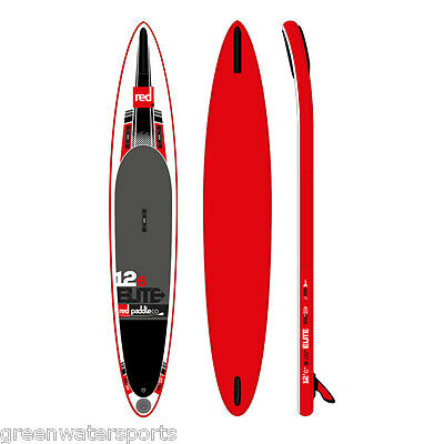 """2016 Red Paddle Co 12'6"""" Elite inflatable SUP paddle board"""