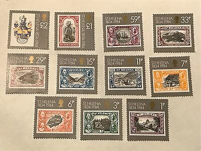 St. Helena  #s399-409    unused  Lot #C1847