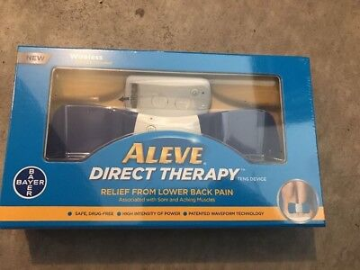 ALEVE Direct Therapy Wireless TENS Device - Lower Back Pain Relief