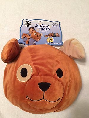 3 PIECE DOG Naptime Pal w/Removable BLANKET Includes PILLOW & CARRYING CASE NEW!