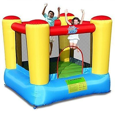 Airflow Bouncy Castle Kids 2 x 2m with Electric Pump Indoor Outdoor Brand new