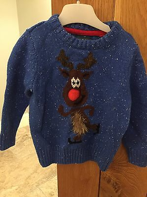 Baby christmas jumper 12-18 months